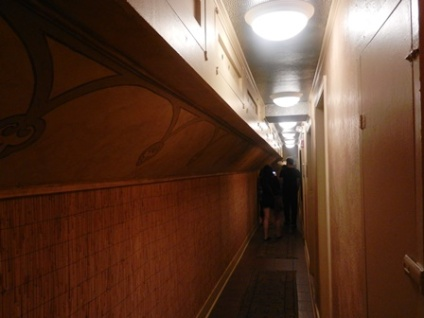 Hallway leading to the morgue where a little unethical experimentation went on...